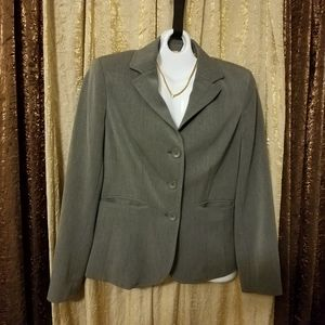 Grey Blazer, Sz 8 Worthington, 3 button